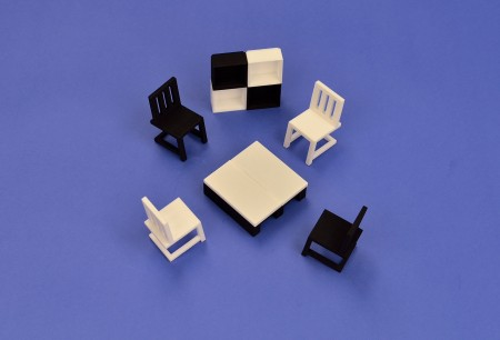 Furniture in a Cube
